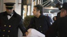 Michael Cohen Leaves Hospital With Arm In Sling