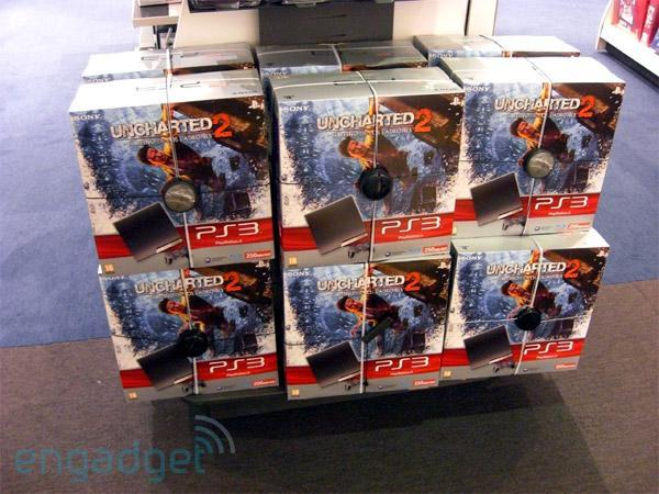 Sony's 250GB Uncharted 2 PlayStation 3 Slim bundle on sale in Spain