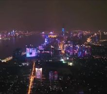 Wuhan Puts on Light Show as Lockdown Restrictions End