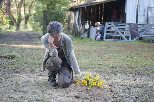 Melissa McBride as Carol in AMC's The Walking Dead. (Photo Credit: Gene Page/AMC)