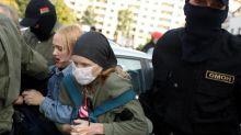 Biélorussie : la police arrête des centaines de personnes lors d'une manifestation de femmes