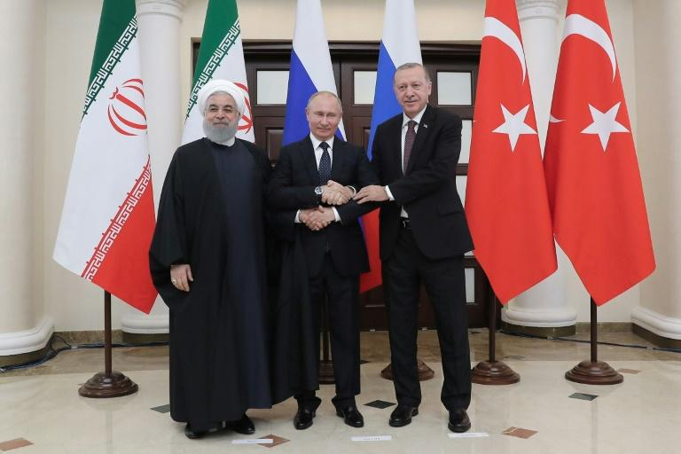 Putin, Erdogan and Rouhani hold news conference (ENG)