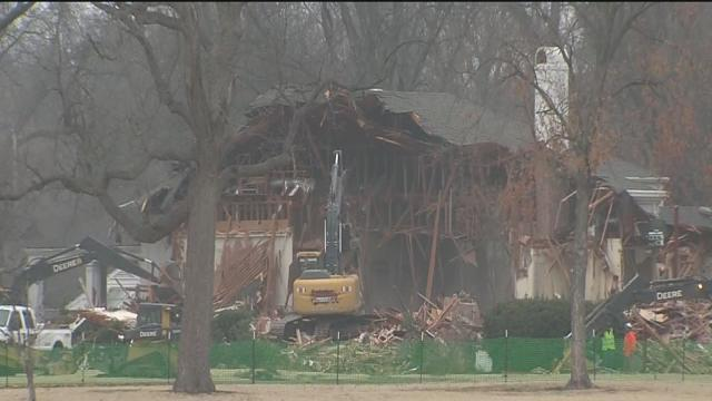 Blair Mansion demolished, George Kaiser Family Foundation owned land will become 'A Gathering Place'
