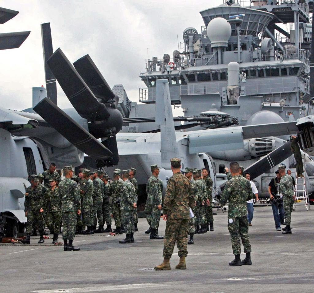 Phl Reopens Subic Bay As Military Base