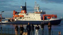 La mayor expedición de la historia al Polo Norte regresó a Alemania