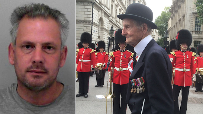 Man guilty of hammer attack on D-Day veteran