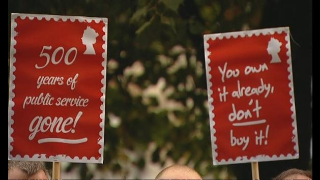 Billy Hayes: Royal Mail sell-off is 'an outrage'