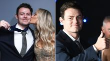 WAG's brutal rejection before marrying Brownlow winner