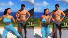 Nicole Scherzinger performs goofy dance next to Thom Evans in adorable TikTok