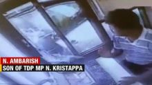 Caught on cam: Karnataka MP Kristappa's son vandalising toll booth