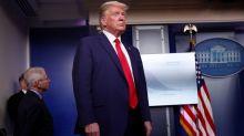 Trump warns Americans of a tough two weeks ahead in coronavirus fight
