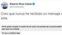 """Un cineasta español comparte el mensaje """"más épico"""" que ha recibido: """"Mi futuro está en tus manos"""""""