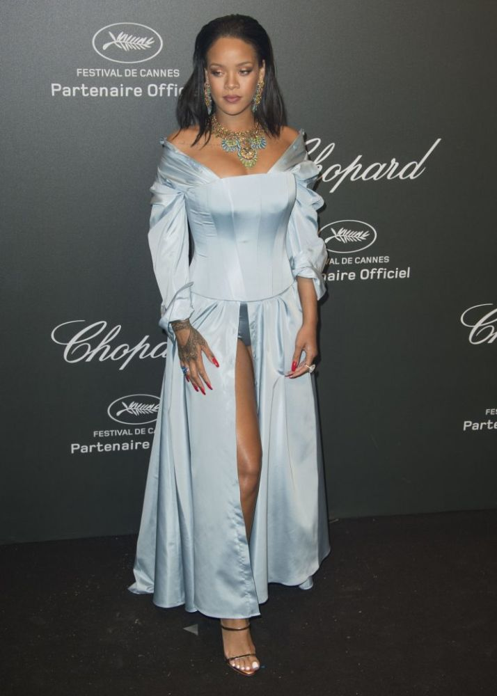 rihanna chopard cannes party