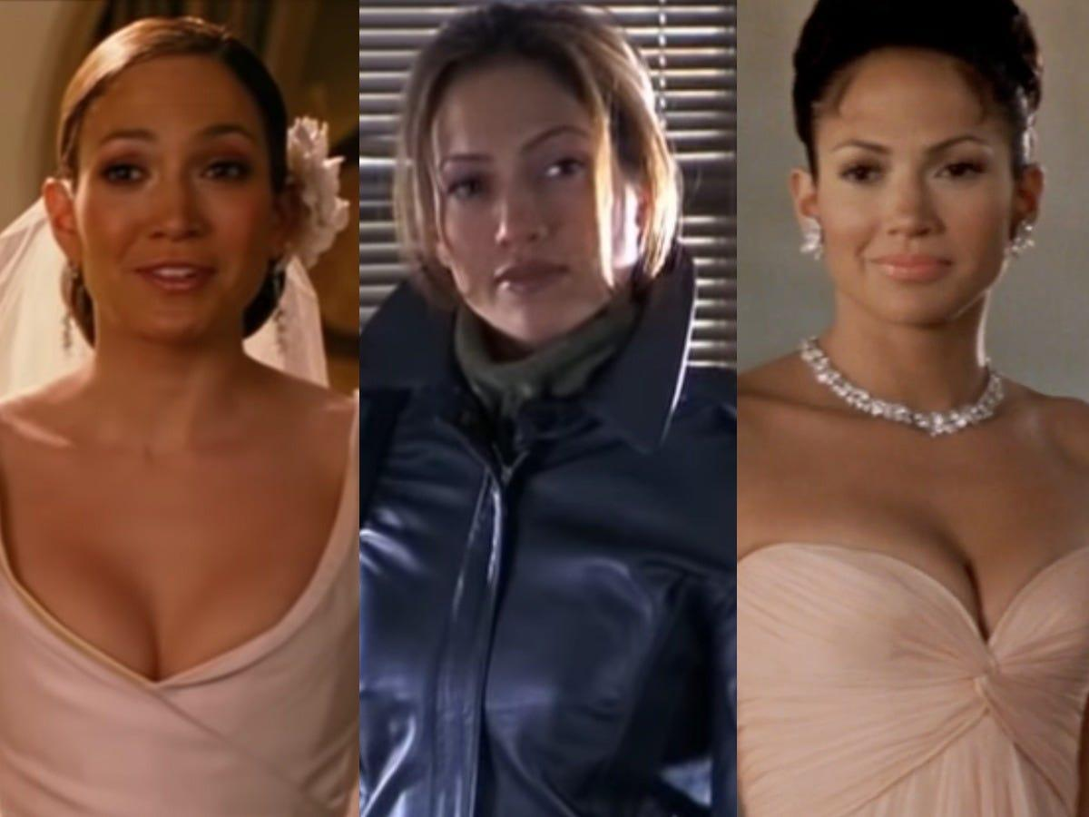 14 of Jennifer Lopez's most iconic on-screen outfits