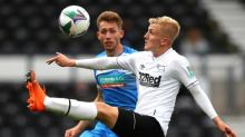Derby's Louie Sibley: 'I have taken Rooney's aggression into my game'