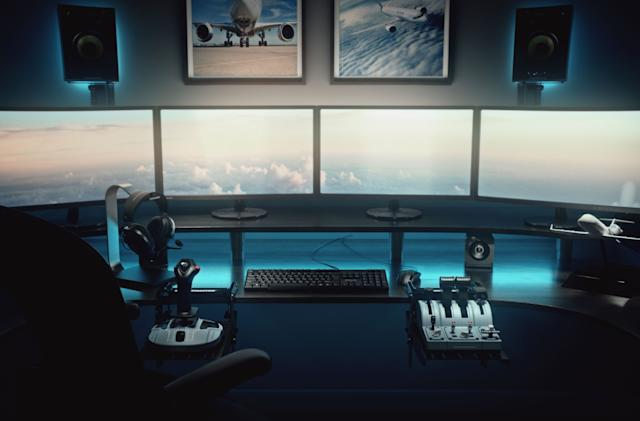 Thrustmaster unveils official Airbus gear ahead of 'Flight Simulator' release