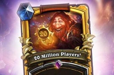 Hearthstone boasts 20 million registered players