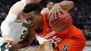 Syracuse stifles Michigan State in huge upset