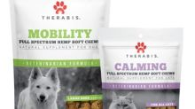 Therabis Hemp-Based Pet Supplement Soft Chews Now Available to Veterinarians Through Distribution Agreement with Vedco