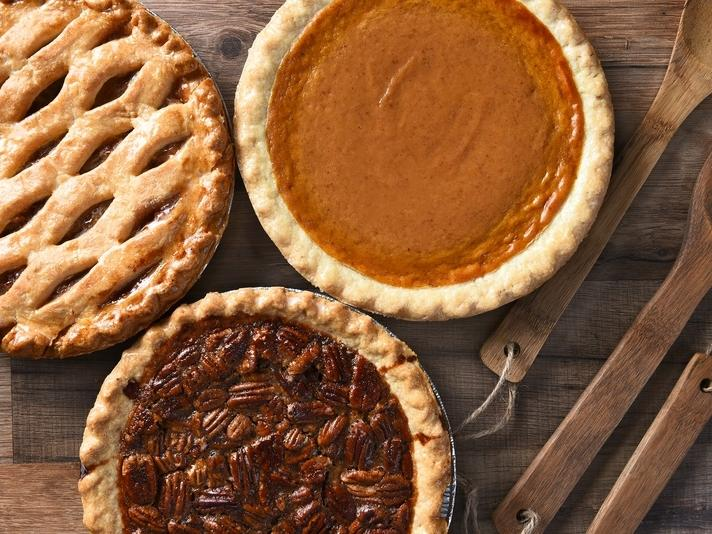 Visit pumpkin patches in Smyrna and bake a pumpkin pie from scratch.