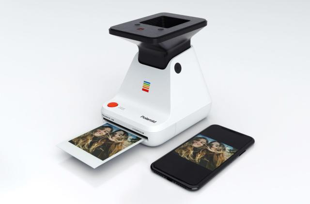 The Polaroid Lab delivers instant prints using your phone display