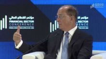 Issues in the press about Middle East don't tell me to run away: BlackRock CEO
