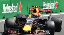 Verstappen completes double, crashes, stays 'positive'