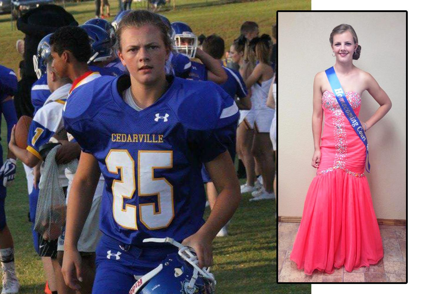 Girls are playing football — and being crowned homecoming queen