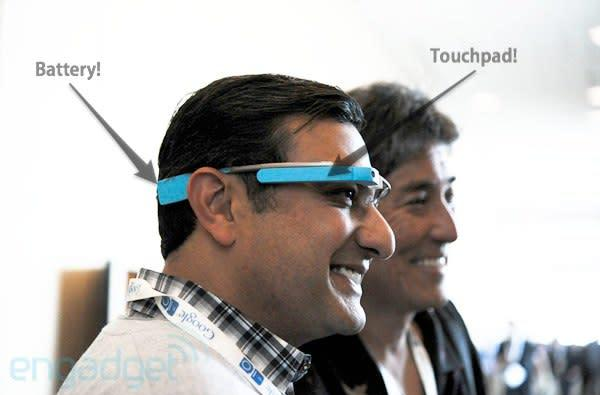 More Google Glass details: experimenting with connectivity options, control possible via voice