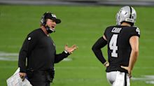 Raiders coach Jon Gruden said he contracted coronavirus this summer after win against Saints
