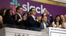 Workplace-messaging service Slack surges on day one of its direct listing
