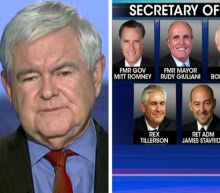 Gingrich discusses Trump's Secretary of State contenders