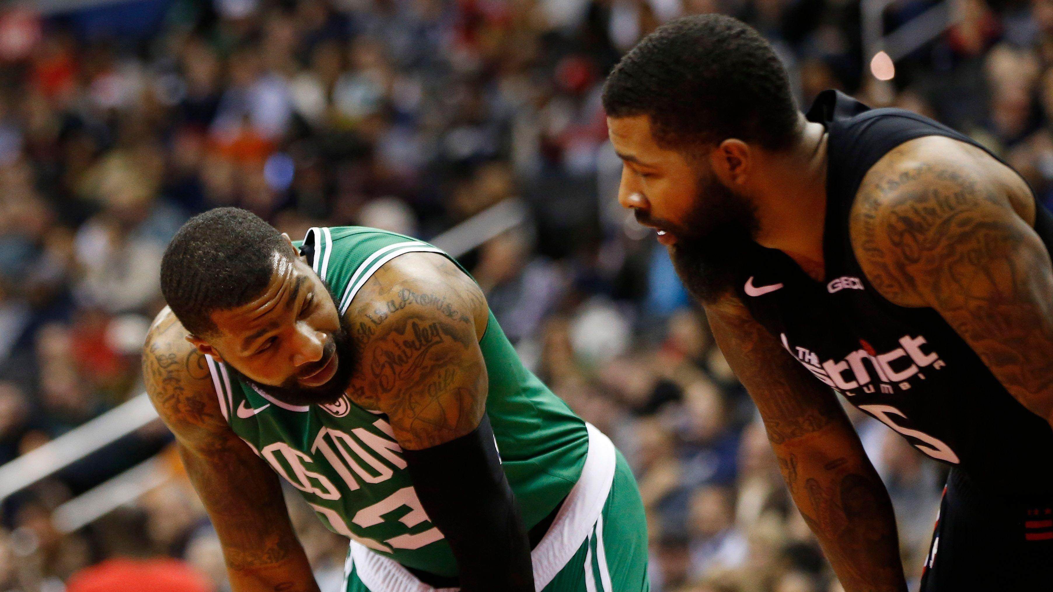 00d0459f5a4 Twin neck woes  Markieff Morris  brother Marcus  neck  sore as hell