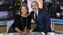 Katie Couric once said Matt Lauer 'Pinches me on the ass a lot'