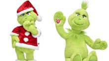 Build-A-Bear is selling a Christmas Grinch toy for the festive season