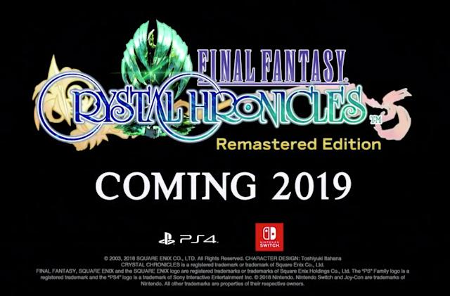 'Final Fantasy Crystal Chronicles' is coming to the Switch and PS4