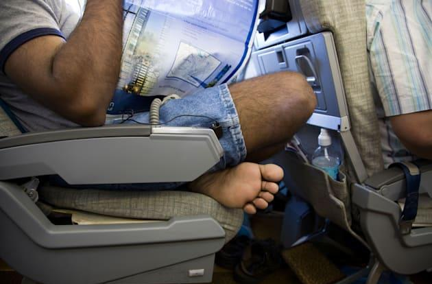 A fight about seat reclining privileges grounded a flight today