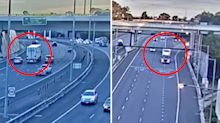 Haunting vision of truck moments before crash killed four cops