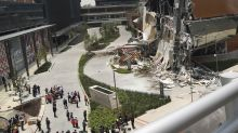 Controversial shopping mall partly collapses in Mexico City