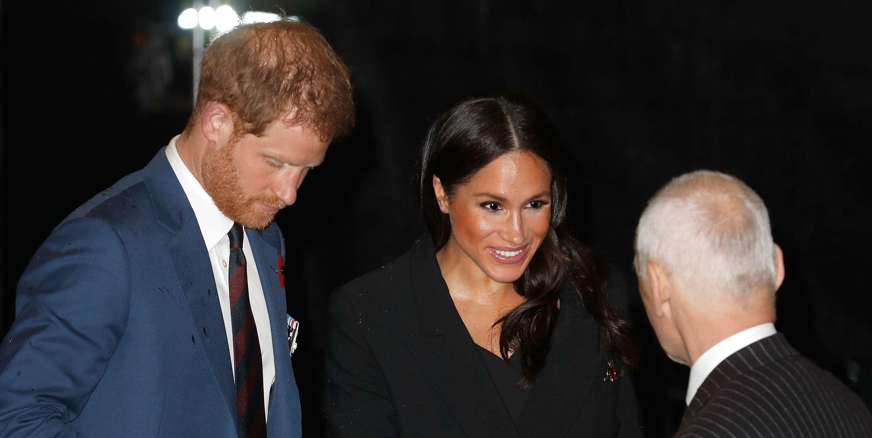 meghan markle wears black blazer dress to the royal festival of remembrance yahoo news canada