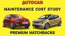 Car maintenance cost comparison Part 7: Premium hatchbacks