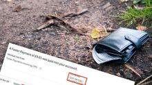 Good Samaritan's genius ploy to return lost wallet
