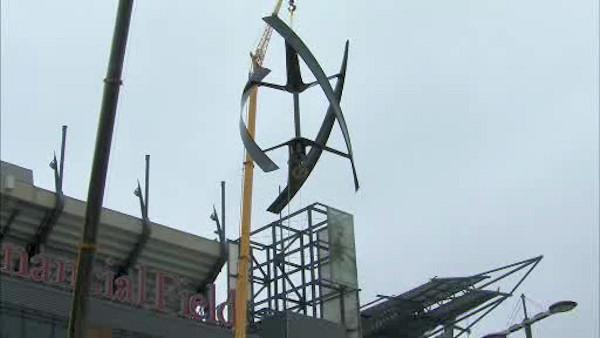 Wind power comes to Lincoln Financial Field