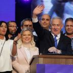 Netanyahu's rule threatened by deadlocked Israeli polls