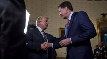 Comey tried to hide in curtains at White House gathering to avoid Trump: Report