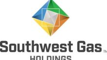 Southwest Gas Holdings Increases the Quarterly Common Stock Dividend and Declares Second Quarter 2019 Dividend