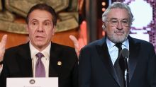 Andrew Cuomo says it would be a 'treat' for 'genius' Robert De Niro to portray him