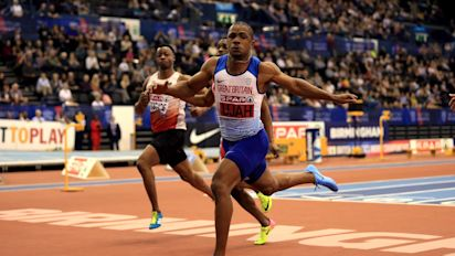 Chijindu Ujah hoping to put British sprinting 'back on the map' in post-Usain Bolt world