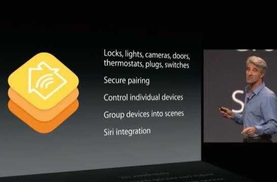 WWDC 2014: HomeKit brings smart home services under one app