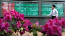 Stocks, dollar climb before Powell's Jackson Hole speech